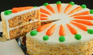Морковный пирог простой рецепт