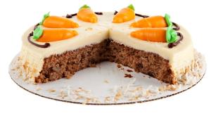Пирог из моркови и яблок