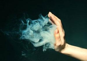 Заклинание с использованием дыма
