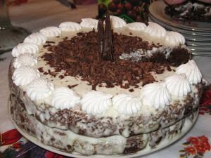 Торт негр в пене рецепт