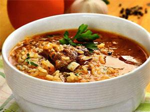 Продукты необходимые для супа харчо