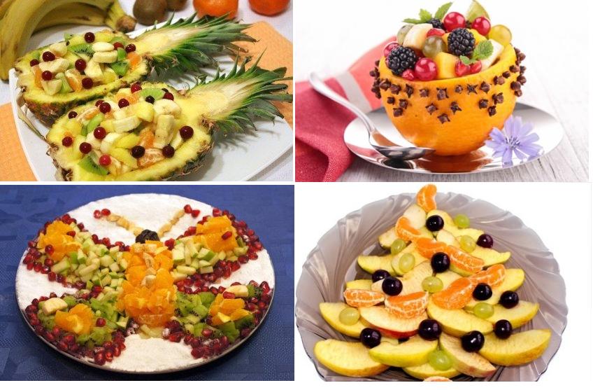 Салат с сыром и грушей на новый год