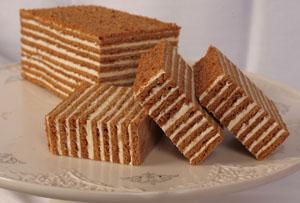 Описание классического рецепта торта рыжик