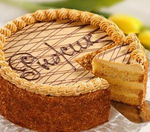 Описание торта рыжик
