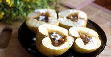 печеные яблоки в духовке рецепт калорийность плюсы и минусы