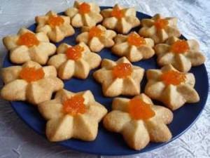 Готовим песочное печенье курабье