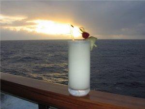 Пинаколада с карибского моря