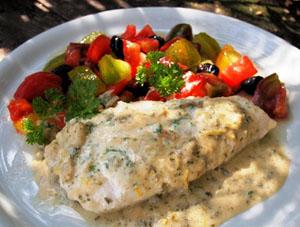 Рецепт приготовления рыбы под белым маринадом
