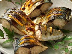 Рыба под белым маринадом