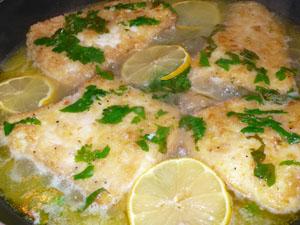 Рыба под горчично-лимонным маринадом