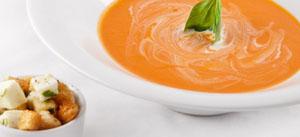 Подготовка продуктов для тыквенного супа