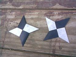 Схема как сделать сюрикен из бумаги