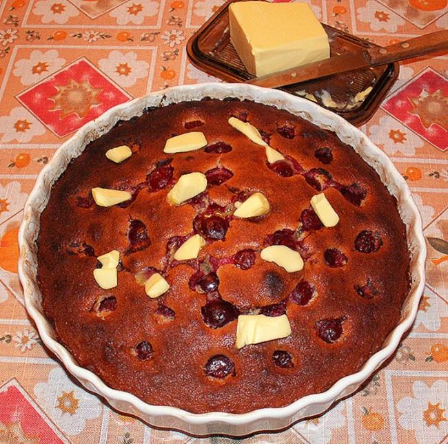 Рецепт приготовления тирольского вишневого пирога