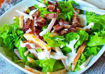 салат загадка рецепт с говядиной