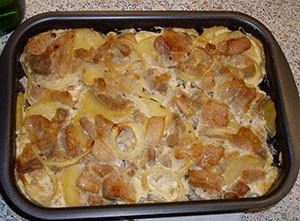 Рецепт свинина с картошкой под майонезом