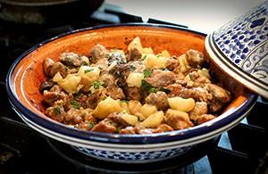 Рецепт свинина в фольге с картошкой и грибами