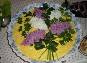 это салат мимоза рецепт с сардиной