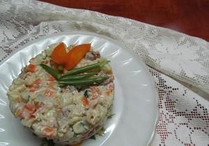 Салат с мясом свинины рецепт