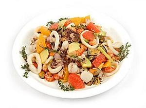 Салат из морепродуктов рецепты простые