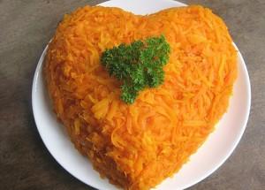 Салат одинокое сердце