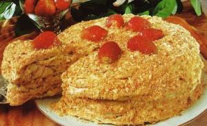 Вкусный десерт со сгущенкой