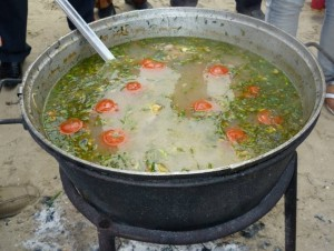 Это рыбный суп или уха
