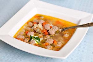 Как готовить суп с фрикадельками