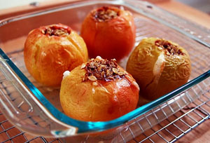 Технология приготовления печеных яблок