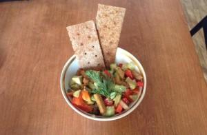 Вкусный рецепт постного салата с авокадо