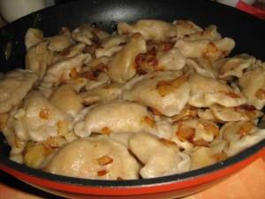 Хорошее тесто для вареников с картошкой