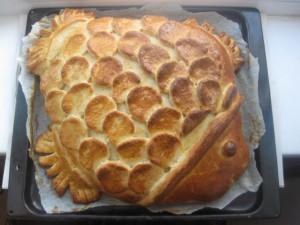 Быстро готовим вкусное тесто для пирога с рыбой