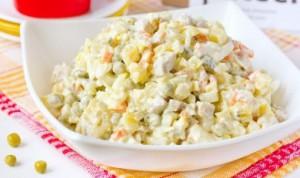 Вкусный рецепт салата с мясом свинины готовим и зовем гостей