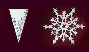Снежинки для зимы