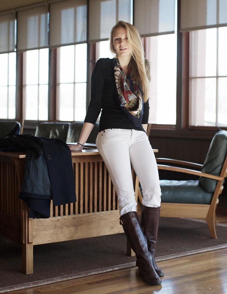 Жокейский стиль в одежде
