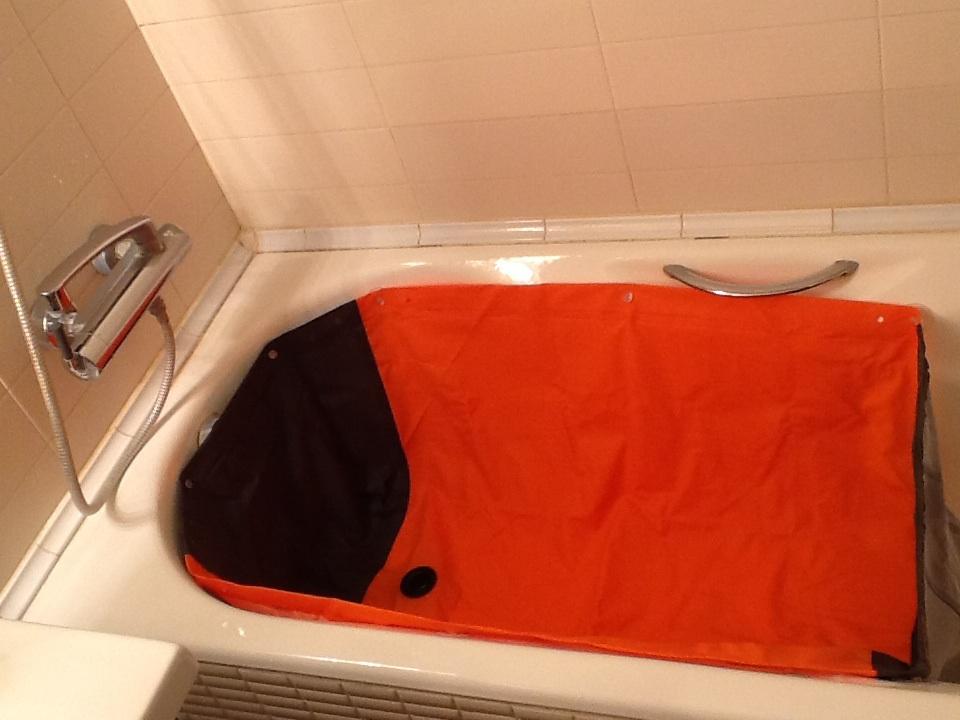 Вкладыш в ванну для мытья собак МОЙДЖЕК