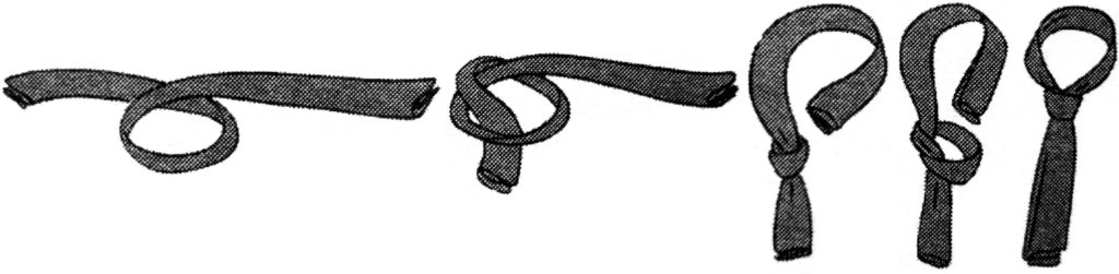Как завязать женский галстук - пошаговое фото
