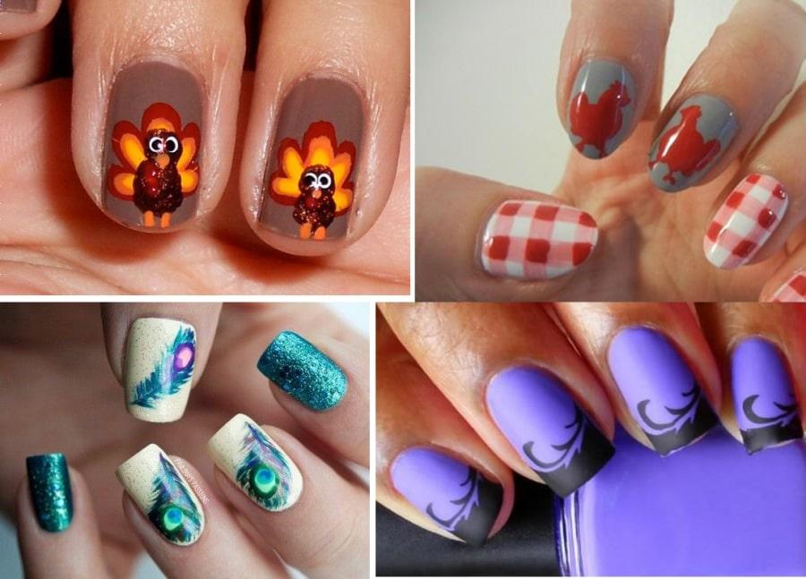 Как нарисовать петуха на ногтях поэтапно