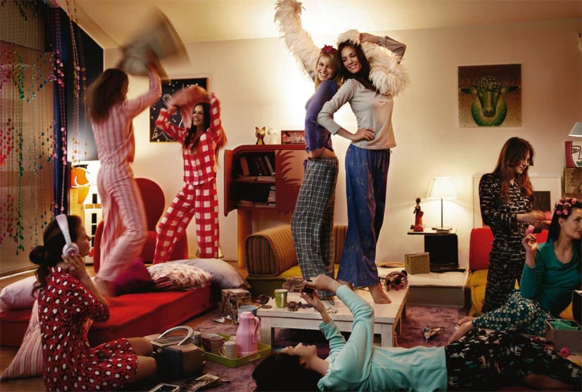 Пижамная вечеринка как устроить