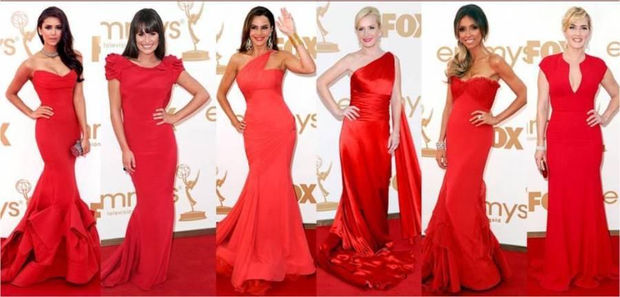 Красное платье и какой цвет помады