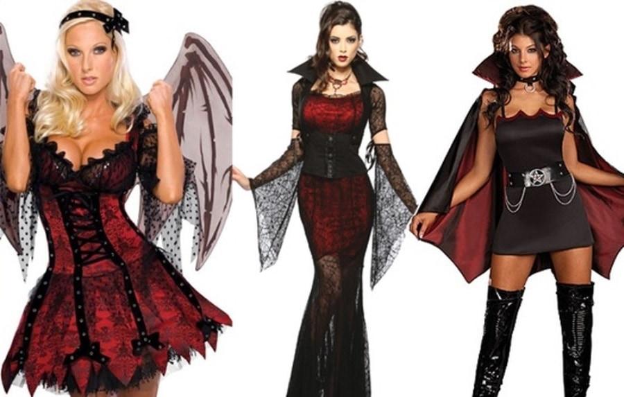 Костюмы на хэллоуин своими руками фото