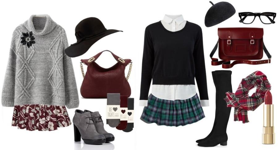 Мода на юбки в складку