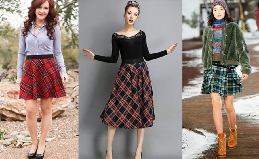 Мода на юбку в складку