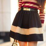 Модные юбки со складками