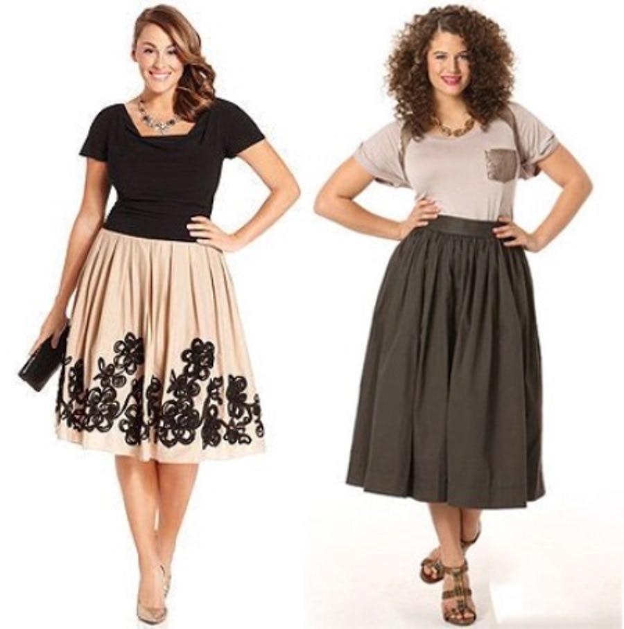 Модные юбки в складку