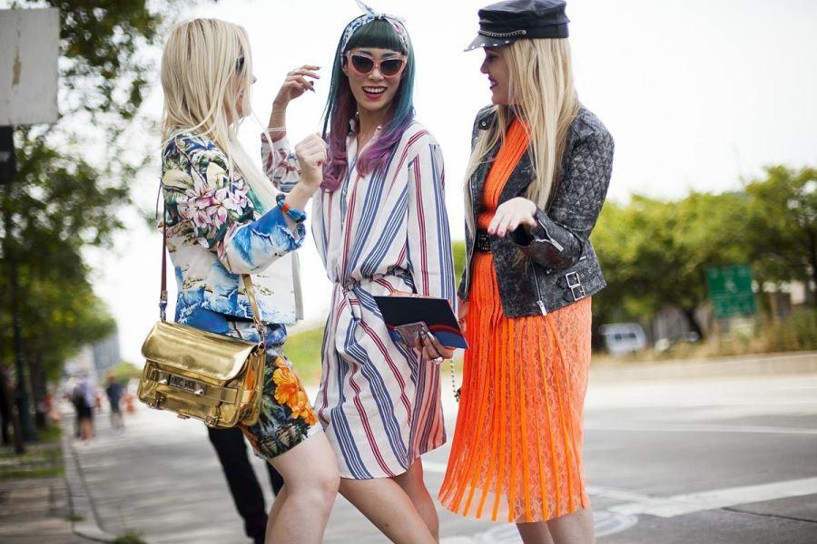 Модные женские платья на весну