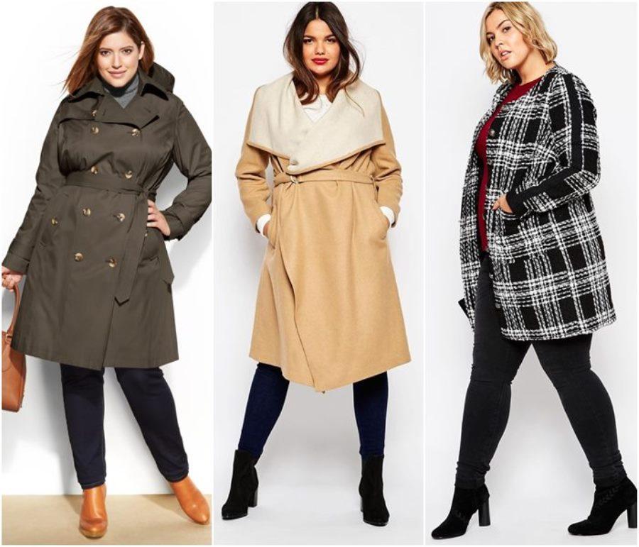 Осень зима мода для полных