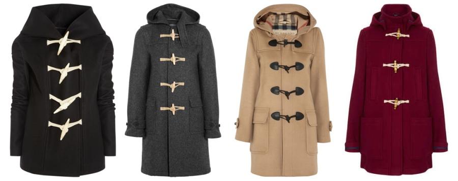 Пальто даффлокт женское демисезонное