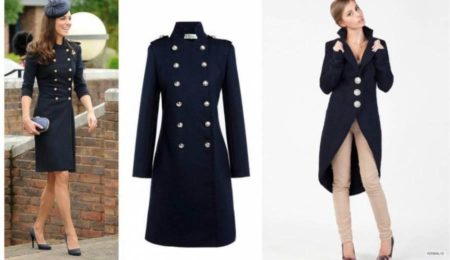 Пальто редингот женское демисезонное