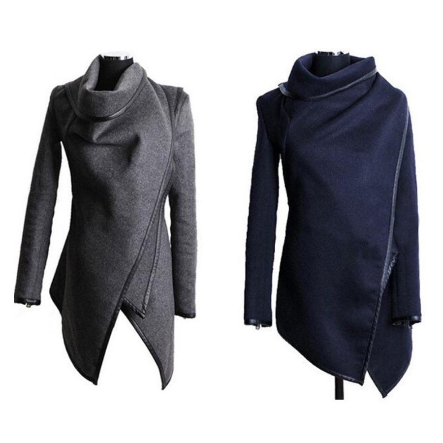 Пальто с запахом женское