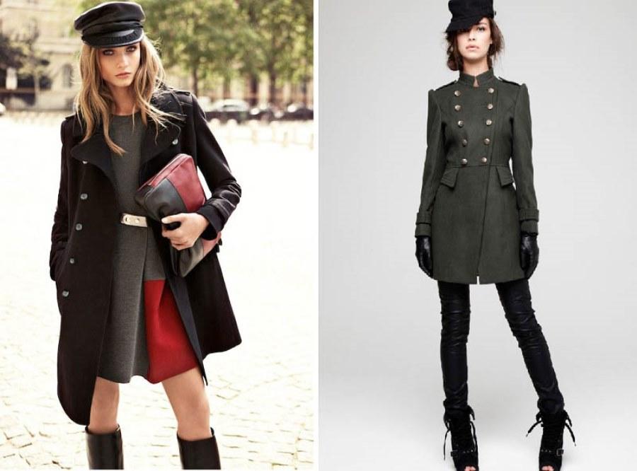 Пальто шинель женское демисезонное